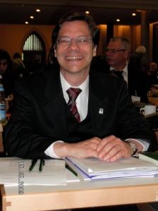 Dr. Markus Dröge bei seiner Wahl zum Bisch der Ev. Kirche Berlin-Brandenburg-schlesische Oberlausitz