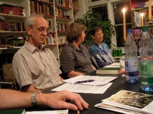 Pfarrer Andreas Fuhr von der Zwölf-Apostel-Gemeinde bei der Rogate-Gründung am 9.9.2009