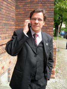 Dr. Markus Dröge wird am 14. November 2009 in der Berliner St. Marienkirche als neuer Bischöf der EKBO eingesegnet (Bild: Schaar)