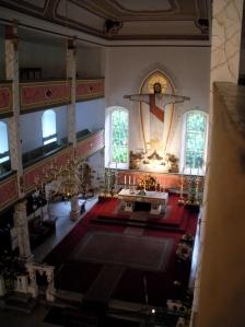Die Kirche St. Wigbert in Werningshausen gehört zum Kloster.
